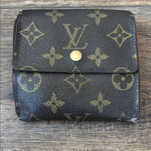 Louis Vuitton Monogram Wallet #259